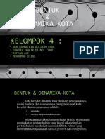 Kelompok 4 - Bentuk Dinamika Kota