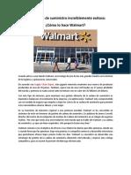 Cadena de Suministro de Walmart