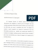 Carta del Papa Francisco a los obispos de Chile