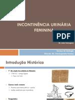 0000- Incontinencia Urinaria Feminina