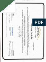 ap csp van slyke certificate