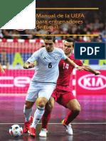 Manual entrenadores fútbol sal UEFA