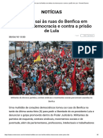 Lula Livre -Boletim Renato Roseno