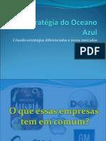 A Estratégia Do Oceano Azul