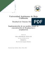 Modelo NPZD FitoPlancton