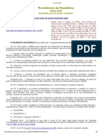 Lei Nº 11.516 de 2007 - Dispõe Sobre a Criação Do Instituto Chico Mendes de Conservação Da Biodiversidade - Instituto Chico Mendes