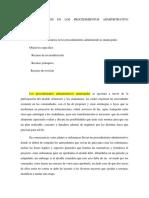Los Recursos en Los Procedimientos Administrativo Municipales