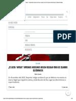 11-04-18 ¿Te gusta 'vapear' Diputados mexicanos buscan regular venta de cigarros electrónicos _ Reporte Indigo