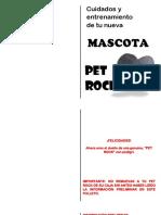 manual pet rock en español