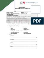 2018-0 1 Primera Práctica Calificada - Hidrología