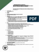 Convocatoria CAS 135-2018