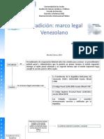 Mapa Conceptual Extradición en venezuela
