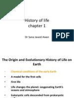 History of Life Chp 1sfs