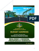 Dominica's Budget (2017-2018)