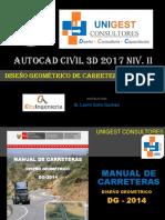 3.0 Civil 3d 2017 Niv II - Aplicacion de La Dg 2014 - Rev 0