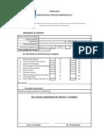 Formulario Orden Nacional Francisco Marroquin