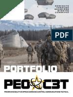 PEO C3T 2017 Portfolio Book