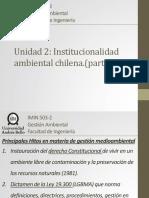 Unidad 2 - Institucionalidad Ambiental Chilena P1