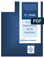 IGCSE WRITING - BOOKLET.docx