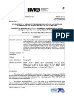 MEPC 72-11-4 - Comments on Document MEPC 72111 on Measures to Reduce Ris...
