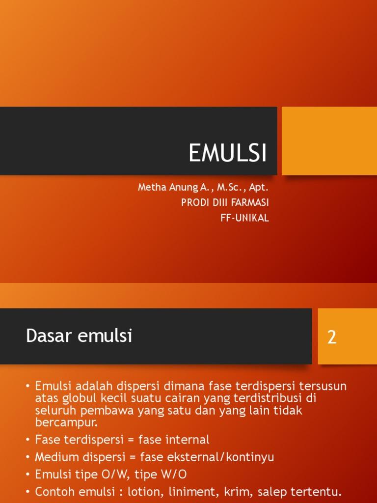 3 Emulsi