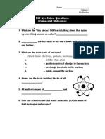 bill nye - atoms and molecules