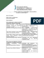 Programa Final Congreso Instituciones e Interdisciplina