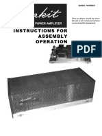Dynaco ST35 Instructions Manual