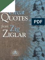 Zigler, Zig - Great Quotes From Zig Ziglar