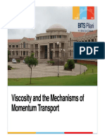 1 - Mechanism of Momentum Transport