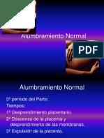 14- Alumbramiento Normal y patológico 2015