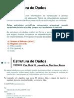 Aula 10 - Estruturas de Dados -_- Trabalhando Com Vetores