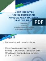 Al-uluhiyyah_ Tauhid Uluhiyyah, Rububiyyah