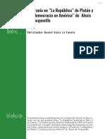 La Tiranía en Platón y Tocqueville - Christopher Salas La Fuente
