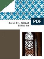 Mustansiriya Madrasah, Baghdad, Iraq