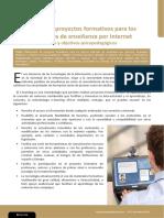 Proyectos Formativos e Internet