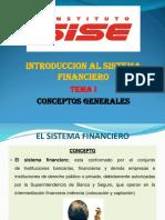 El Sistema Financiero 1 - SISE