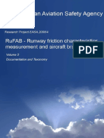 Runway friction characteristics measurement