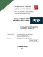 Cálculo y Diseño Estructural Del Edificio Multifamiliar Borneo