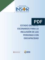 Caracterizacion Estado Del Arte Inclusion Personas Discapacidad