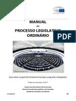 EU Processo Legislativo Ordinário - Manual