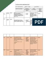 Planificación de Aprendizajes 2018 Lenguaje