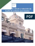 Manual Huella de Carbono en Hoteles