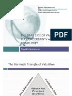 Valuation Bermuda Triangle a i Mr