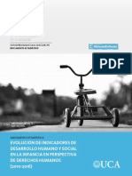 2017 Observatorio Evolucion Indicadores Desarrollo Humano y Social