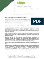 Comunicado ABAP - Orientações Sobre Novo Decreto ISS - SP - 06 Abril de 2017