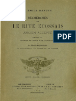 Daruty J E - Recherches sur le Rite Ecossais Ancien et Accepté - 1879.pdf