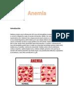 Introducción Anemia