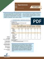 04 Informe Tecnico n04 Exportaciones e Importaciones Feb2017