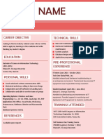 Resume template for fresh grads